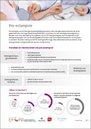 EFCNI factsheet pre-eclampsie