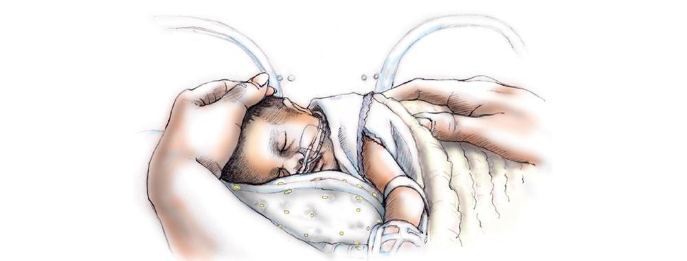 Zorgen voor je baby in de couveuse