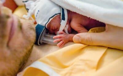5 redenen voor vaders om te buidelen met hun premature baby